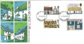 1970  British Rural Architecture, Trident FDC, Londonderry FDI