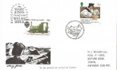 1988 The Welsh Bible 1588 -1988, Talyllyn Railway FDC, 18p Only, First Day of Issue Ty Mawr Wybrnant H/S