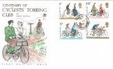 1978 Cycling, Stuart FDC, with Up Down Hill Windlesham Surrey cds