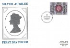1977 Silver Jubilee 9p, Historic Relics FDC, First Day of Issue Windsor H/S