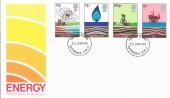 1978 Energy, Post Office FDC, Battersea SW11 FDI