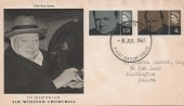 1965 Sir Winston Churchill, British Philatelic Association /  Philatelic Traders' Society  FDC, London WC FDI