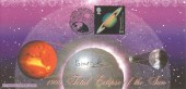 1999 Total Eclipse of the Sun, Falmouth, Bradbury Official FDC, signed by Dr Patrick Moore CBE FRSA