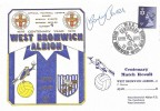 1979 Dawn Football Cover, West Bromwich Albion Centenary Year, Signed by Gary Owen