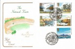 1981 National Trust, Cotswold FDC, National Trust for Scotland Glenfinnan Inverness Shire H/S