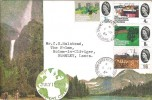 1964 Geographical Congress, Illustrated FDC, Spring Gardens, Stockport Cheshire cds, Relevant Postmark