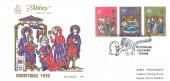 1970 Christmas, Abbey FDC, First Day of Issue Bethlehem Llandeilo H/S