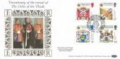 1987 Scottish Heraldry, Benham Star FDC, Revival of the Order of the Thistle Tercentenary Edinburgh H/S