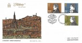 1971 Literary Anniversaries, Abbey FDC, First Day of Issue London EC H/S