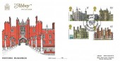 1978 Historic Buildings, Abbey FDC, England's Oldest Tennis Court Hampton Court Kingston Upon Thames H/S