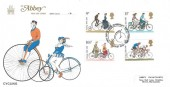 1978 Cycling Centenary, Abbey FDC, First Day of Issue Harrogate North Yorkshire H/S