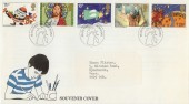 1981 Christmas Kelloggs Official FDC, Manchester H/S