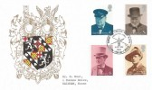 1974 Sir Winston Churchill, Thames FDC, Churchill Centenary Woodford Green Action This Day H/S
