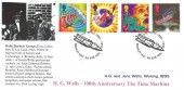 1995  Science Fiction, H G Wells Stamp Searchers FDC, H G Wells Bromley Kent H/S