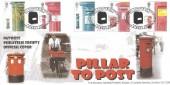 2002 Pillar to Post, NatWest Philatelic Society Official FDC, NatWest Philatelic Society Princes Street London EC2 H/S