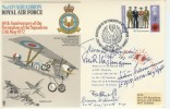 1972 RAF Cover Commemorating 60th Anniversary of the Formation of the Squadron. Signed