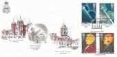 1991 Scientific Achievements, Arlington Official FDC,  RMA Woolwich 1741 Sandhurst 1991 Camberley Surrey H/S