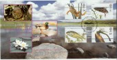2001 Pond Life Covercraft Official FDC