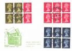 1969 10/- Mary Kingsley Book 3 Panes, Philart FDC, Canterbury cds.