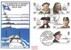 1982 Maritime, Stamp Publicity, (SP) Official FDC, Missions to Seamen Portsmouth H/S.