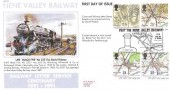 1991 Maps, Nene Valley Railway FDC, Visit the Nene Valley Railway Stibbington H/S.