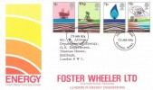 1978 Energy, Post Office (Foster Wheeler Ltd) Overprinted FDC, Reading Berks. FDI.