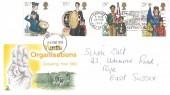 1982 Youth Organisations, Mercury FDC, Sun, Sea, Sand Hastings is Grand Slogan.