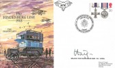 1993 Royal Signal Corp Cover, 75th Anniversary of The Hindenberg Line Battles 1918, Signed Earl Haig OBE, JS(AC)79.