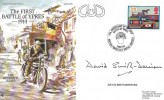 1993 Royal Corp of Signals Museum Cover, 79th Anniversary of the First Battle of Ypres 1914, Signed  David Smith-Dorrien.