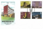 1971 Universities, Philart University of Wales FDC, First Day of Issue Aberystwyth H/S.