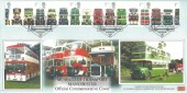 2001 Buses, Dawn Museum of Transport Manchester FDC, 100 Years of Municipal Transport Manchester & Salford H/S.
