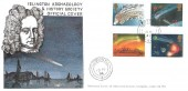 1986 Halley's Comet, Islington Archaeology & History Society Official Cover, London N1 cds.