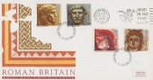 1993 Roman Britain, Royal Mail FDC, Chose The Best Choose Skegness Slogan.