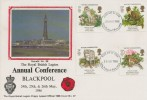 1986 Nature Conservation, British Legion FDC, Fylde, Blackpool, Wyre, Lancs. FDI.