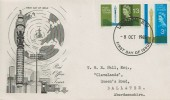1965 Post Office Tower, Stuart FDC, London SW FDI.