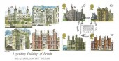 1978 Historic Buildings, Fleetwood FDC, First Day of Issue London EC H/S