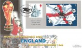 2002 World Cup Football, David Harper Official FDC, World Cup Winner 1966 Wembley H/S.