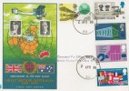 1969 Notable Anniversaries, Philart FDC, Forces Post Office 50 cds.