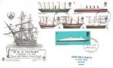 1969 British Ships, Scarce Version Stuart FDC, Portsmouth FDI.