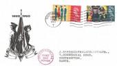 1965 Salvation Army, BPA & PTS FDC, Southampton T Cancel