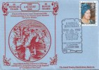 1980 Queen Mother's 80th Birthday, Blackpool Theatre FDC, A Royal Birthday Grand Theatre Blackpool H/S.