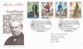 1979 Sir Rowland Hill, Post Office FDC, Mail Coach Run Kidderminster Worcs. H/S.