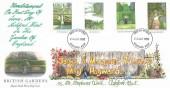 1983 British Gardens, Royal Mail Hand Illustrated FDC, Ashford Kent FDI.