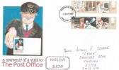 1982 Information Technology, Post Office Souvenir Cover, Used at the Harlow Show, Harlow FDI.