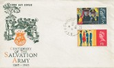 1965 Salvation Army, Illustrated FDC, RAF PO Bicester cds
