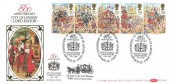1989 The Lord Mayor's Show, Benham BLCS46b FDC, Exhibition at the Museum of London EC H/S.