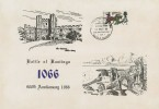 1966 Battle of Hastings, Battle Abbey Card, Posted from The Battlefield Battle Sussex H/S (Swords Down) 4d only.