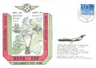 1976 Ajax versus Manchester United, UEFA Cup 1st Round Cover, Luchthaven Schipho postmark