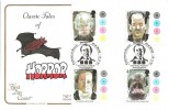 1997 Tales of Horror, Cotswold FDC, Centenary of Dracula National Museum Photography Film & Television Bradford H/S