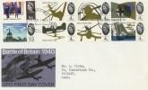 1965 Battle of Britain Ordinary set with Philatelic Bureau H/S